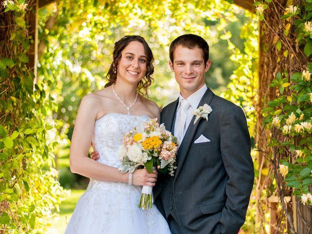The wedding of Stefanie and Joe