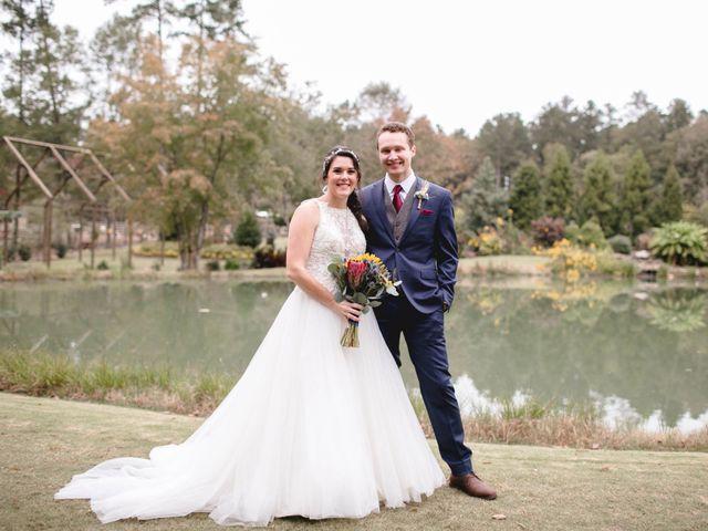 The wedding of Bailey and Josh