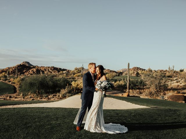 The wedding of Gia and Mark