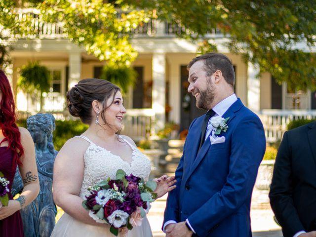 The wedding of Matt and Hillary