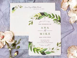 The wedding of Ana and Mike 1