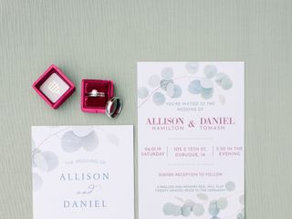 The wedding of Allison and Daniel 2