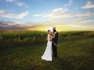 The wedding of Britni and Doug