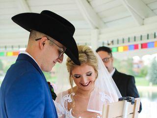 The wedding of Brayden and Amarra 1