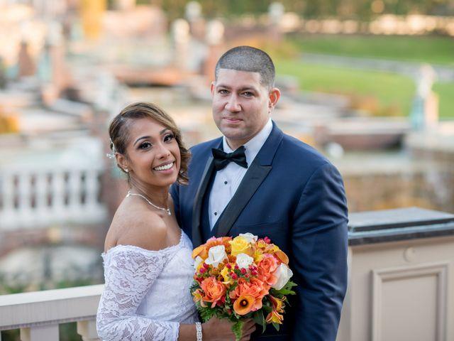The wedding of Sharda and Sergio