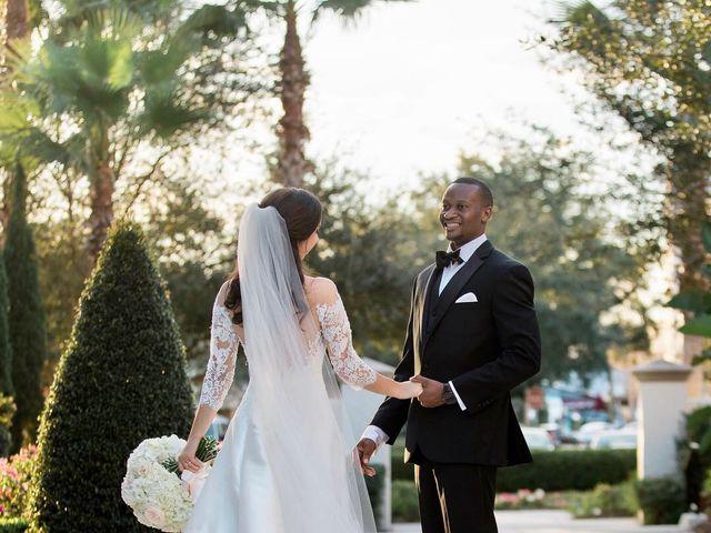 Stephen Obeng  and Jenna Shuman 's Wedding in Winter Park, Florida 10