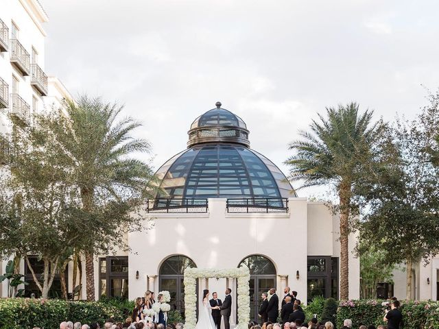 Stephen Obeng  and Jenna Shuman 's Wedding in Winter Park, Florida 12