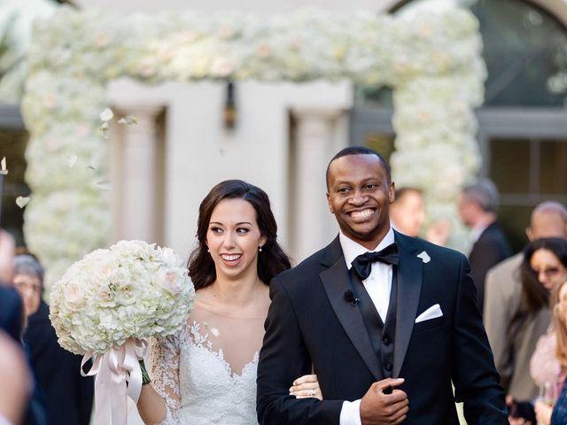 Stephen Obeng  and Jenna Shuman 's Wedding in Winter Park, Florida 14