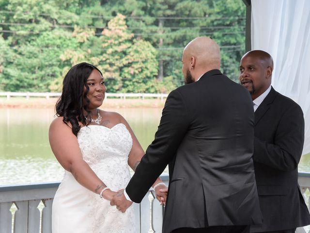 Ray and Jillian's Wedding in Pine Mountain, Georgia 8