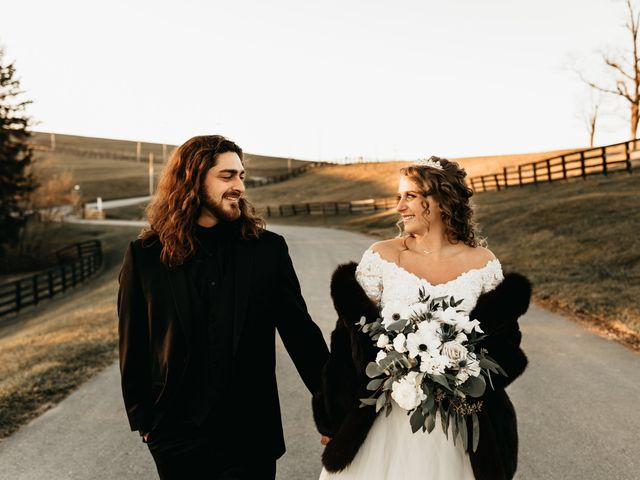 The wedding of Taylor and Zachariah
