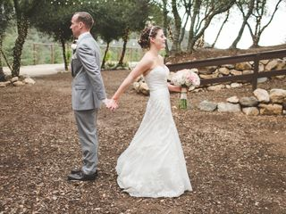 Catie and Kevin's wedding in California 3