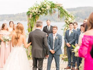 The wedding of Gracie and Alex 1