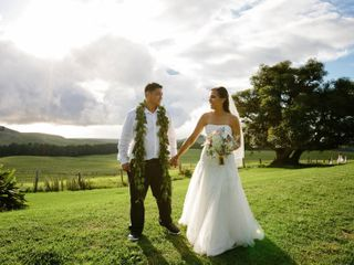 The wedding of Mandie and Dom