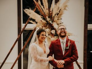 The wedding of Christopher and Alexandra 1