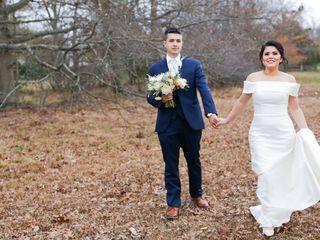 The wedding of Vanuza and Joao