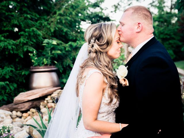 The wedding of Erica and Dyllon