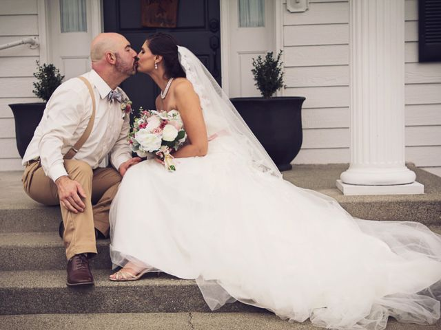 The wedding of Shannon and Jobie