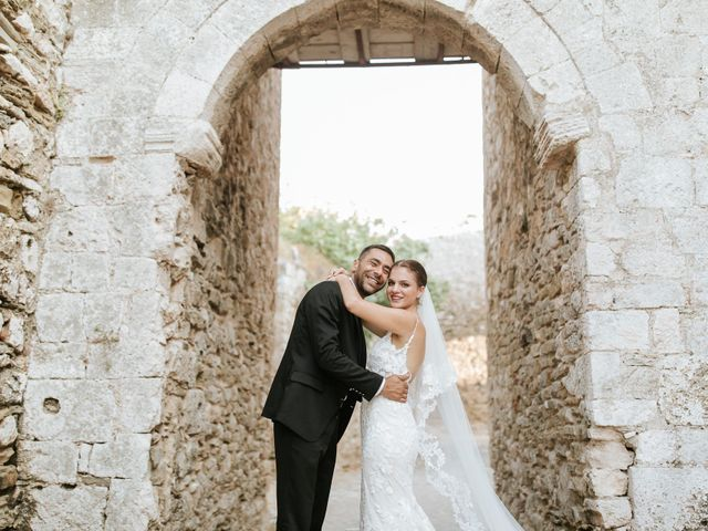 The wedding of Gregory and Yioula