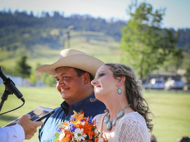 Whittney and Everett's Wedding in Spearfish, South Dakota 13