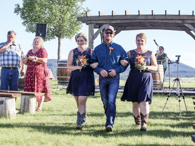 Whittney and Everett's Wedding in Spearfish, South Dakota 7