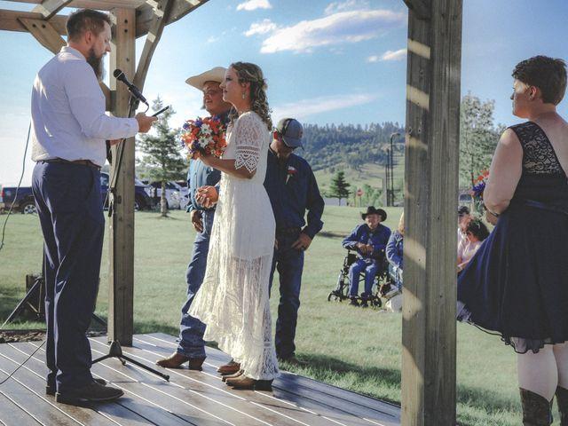 Whittney and Everett's Wedding in Spearfish, South Dakota 10