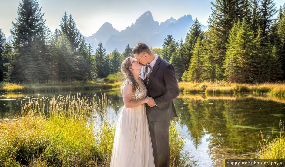 Skye and Colby's Wedding in Jackson, Wyoming