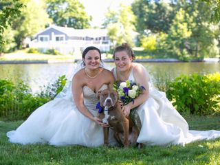 The wedding of Kerri and Melissa