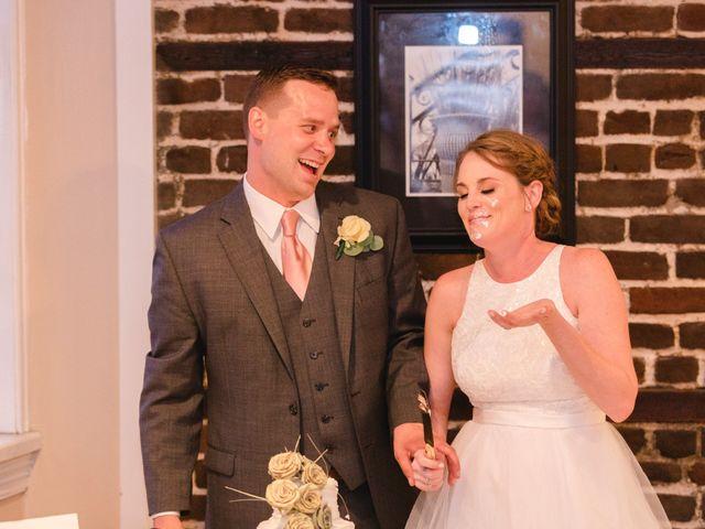 The wedding of Elizabeth and Cody