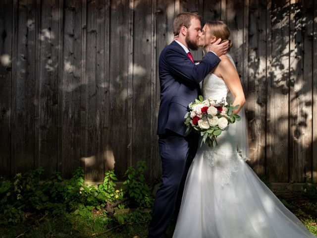 The wedding of Riley and Tyler