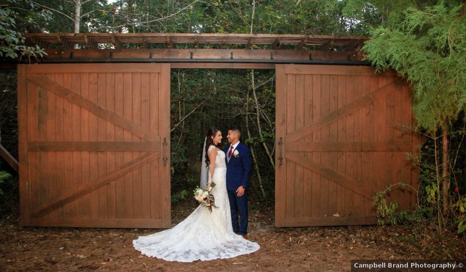 Pedro and Brittany's Wedding in Magnolia, Texas