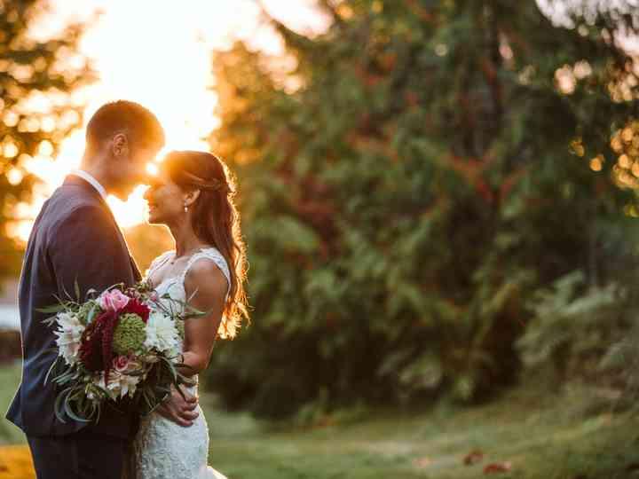 The wedding of Cori and Marcus