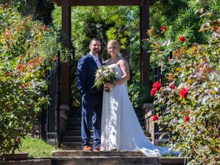 The wedding of Myranda and Chad