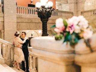 The wedding of Angela and Wayne