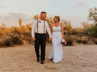 The wedding of Vanessa and John