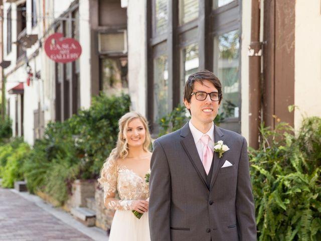 Zach and Christina's Wedding in Saint Augustine, Florida 21