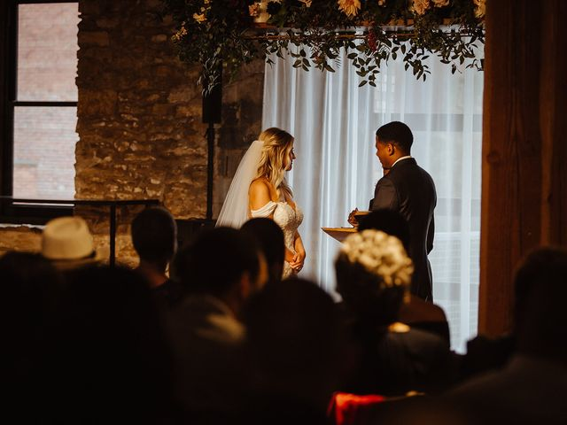 William and Adkin's Wedding in Lawrence, Kansas 38