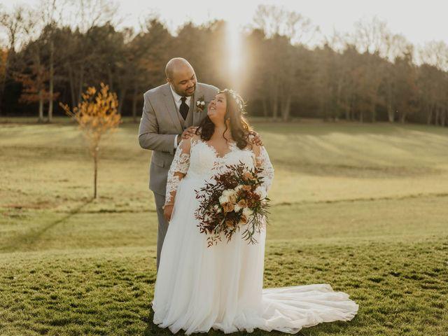 The wedding of Megan and Ian