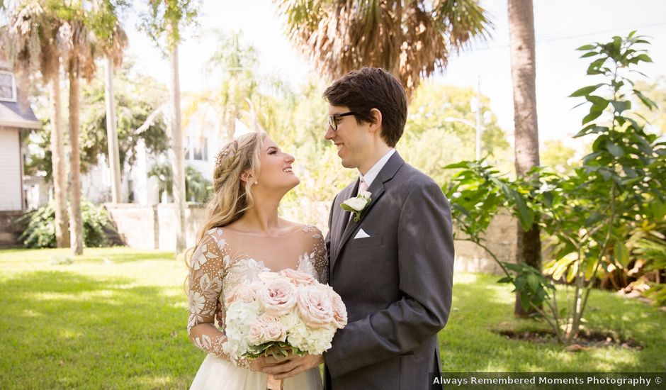 Zach and Christina's Wedding in Saint Augustine, Florida