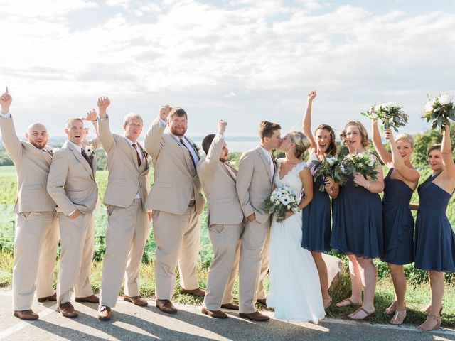Claire and Robert's Wedding in Traverse City, Michigan 17