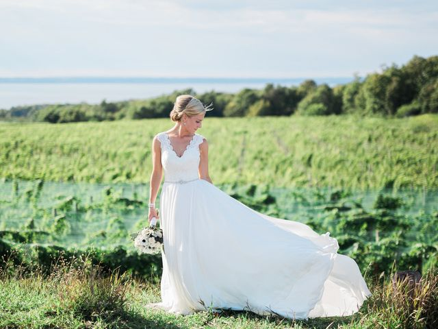 Claire and Robert's Wedding in Traverse City, Michigan 16