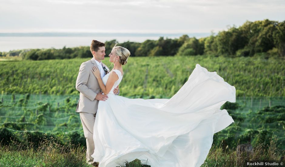Claire and Robert's Wedding in Traverse City, Michigan