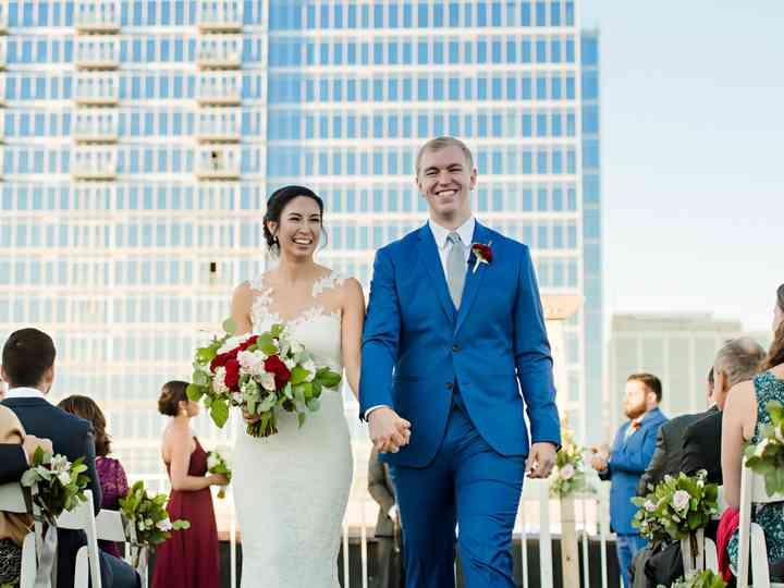 The wedding of Allison  and Joe