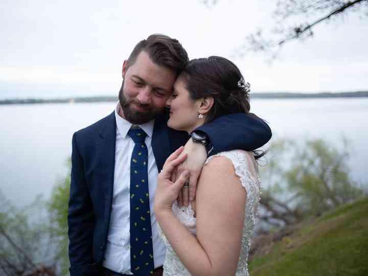 The wedding of Bernadette and Corey