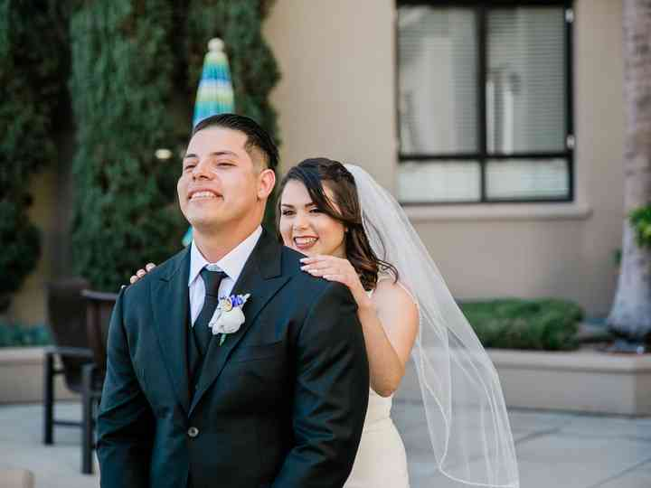 The wedding of Lindsey and Miguel