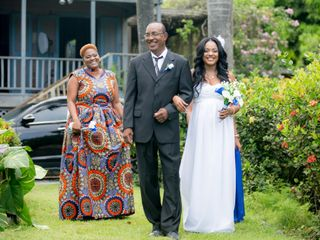 The wedding of Bria and Andie-Len 2