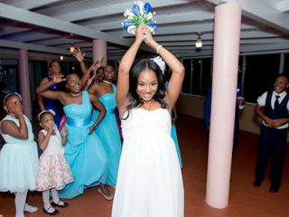 The wedding of Bria and Andie-Len 3