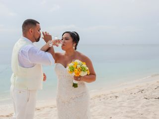 The wedding of Stephanie and Javier
