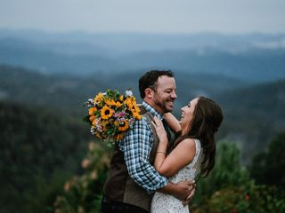 The wedding of Serena and Devin