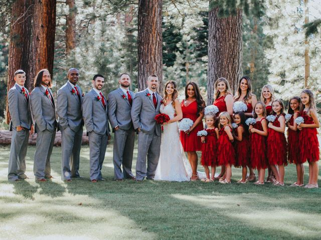Jose and Aundrea's Wedding in South Lake Tahoe, California 29