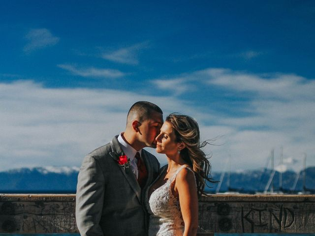 Jose and Aundrea's Wedding in South Lake Tahoe, California 35